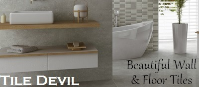 Beautiful Wall and Floor Tiles by Tile Devil