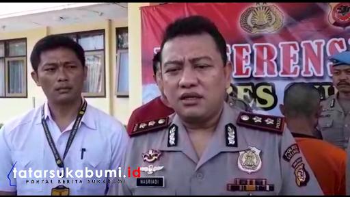Tersangka Pengedar Narkotika Dibekuk di Rumahnya di Palabuhanratu