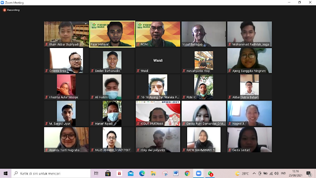 Pembekalan Sarjana Peternakan Fapet Unsoed yang Baru Diyudisium oleh Alumni