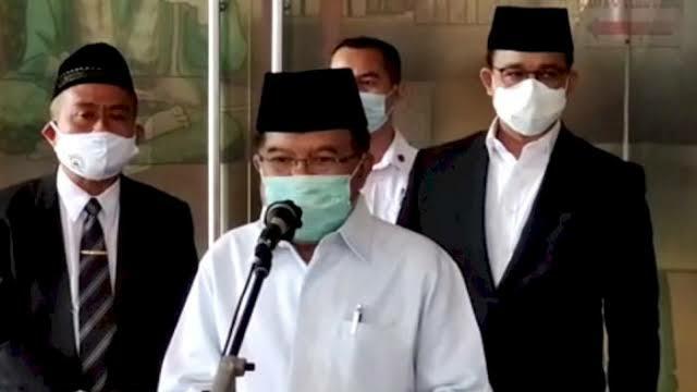 JK Sanjung Gubernur DKI: Pak Anies Beri Bantuan Rp100 Miliar untuk Pengelolaan Masjid