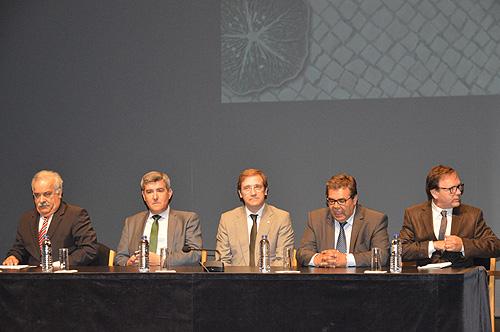 Sessão solene do dia da cidade marcada pela presença do primeiro-ministro, Passos Coelho