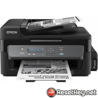 Reset Epson M200 printer Waste Ink Pads Counter