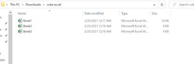 Cara menggabungkan Beberapa file Excel