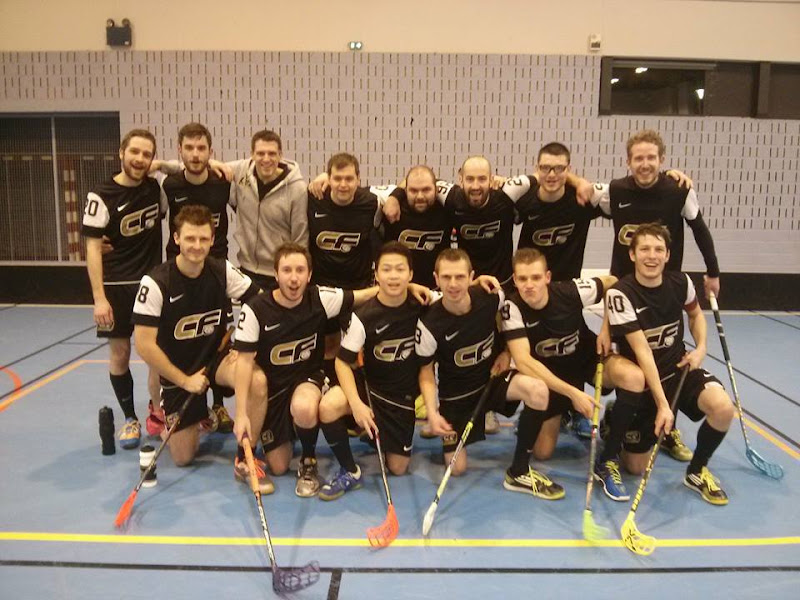 Photo d'équipe Caen Floorball !