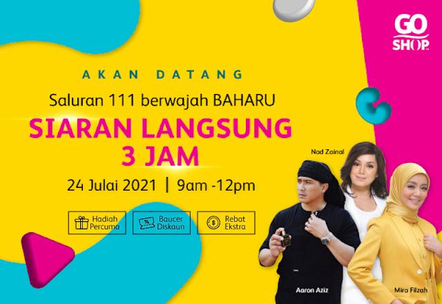 NIKMATI BAUCER DISKAUN RM111, RAI PENJENAMAAN GO SHOP BAARU