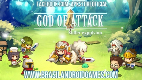 God of Attack Android Imagem do Jogo