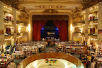 El Ateneo bookshop. If you look very carefully you can see that it was originally a theater.