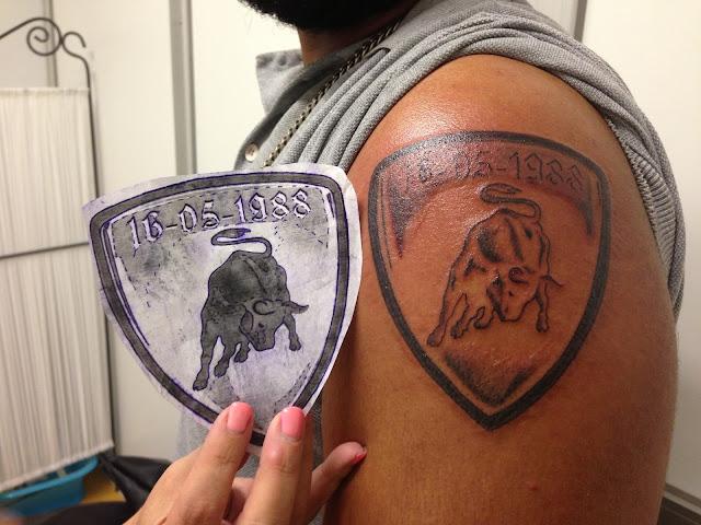 lamborghini tattoo - photo #14