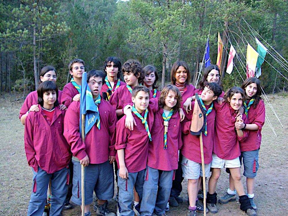 Campaments amb Lola Anglada 2005 - CIMG0274.JPG