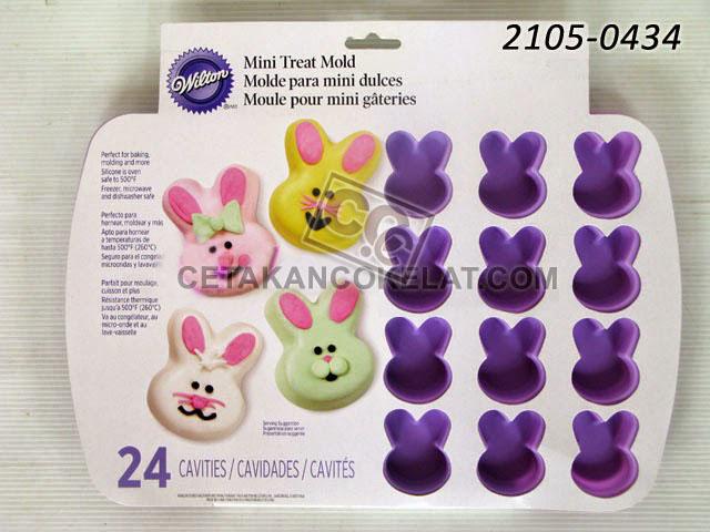 Cetakan Coklat Wilton Kelinci Easter Paskah