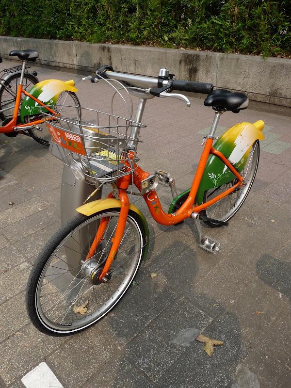 des Vélib a Taipei