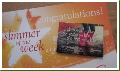 slimmer of the week.