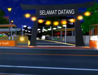 ID Pasar Malam Di Sakura School Simulator