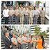 Policía Nacional recibe antorcha olímpica de la versión XLIX de los Juegos Deportivos Militares y Policiales
