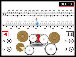 How to play a real Drum Set: ROCK, BLUES, JAZZ