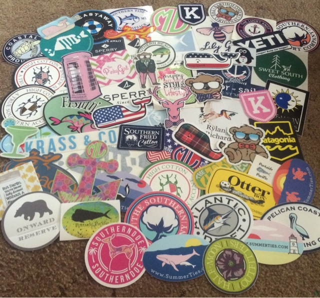 Samantha The Official Prep How To Collect Preppy Stickers