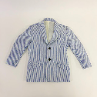 *SALE* Rag & Bone 2yr Boys Seersucker Blazer