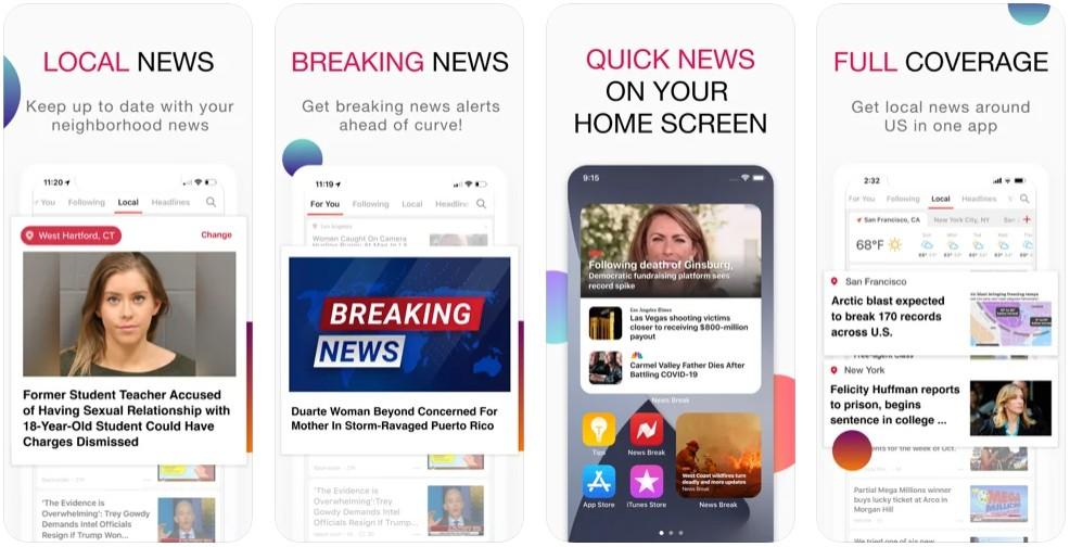 NewsBreak: Local Everything