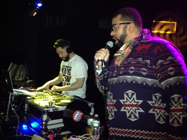 SNKR Joe and Dallas Penn at DROm - Biggie-Jay-Nas Party