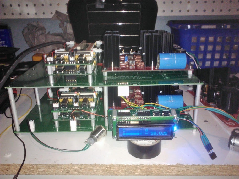 Préamplificateur AMB α10 version balancé avec modules JC-80 JC-80-1