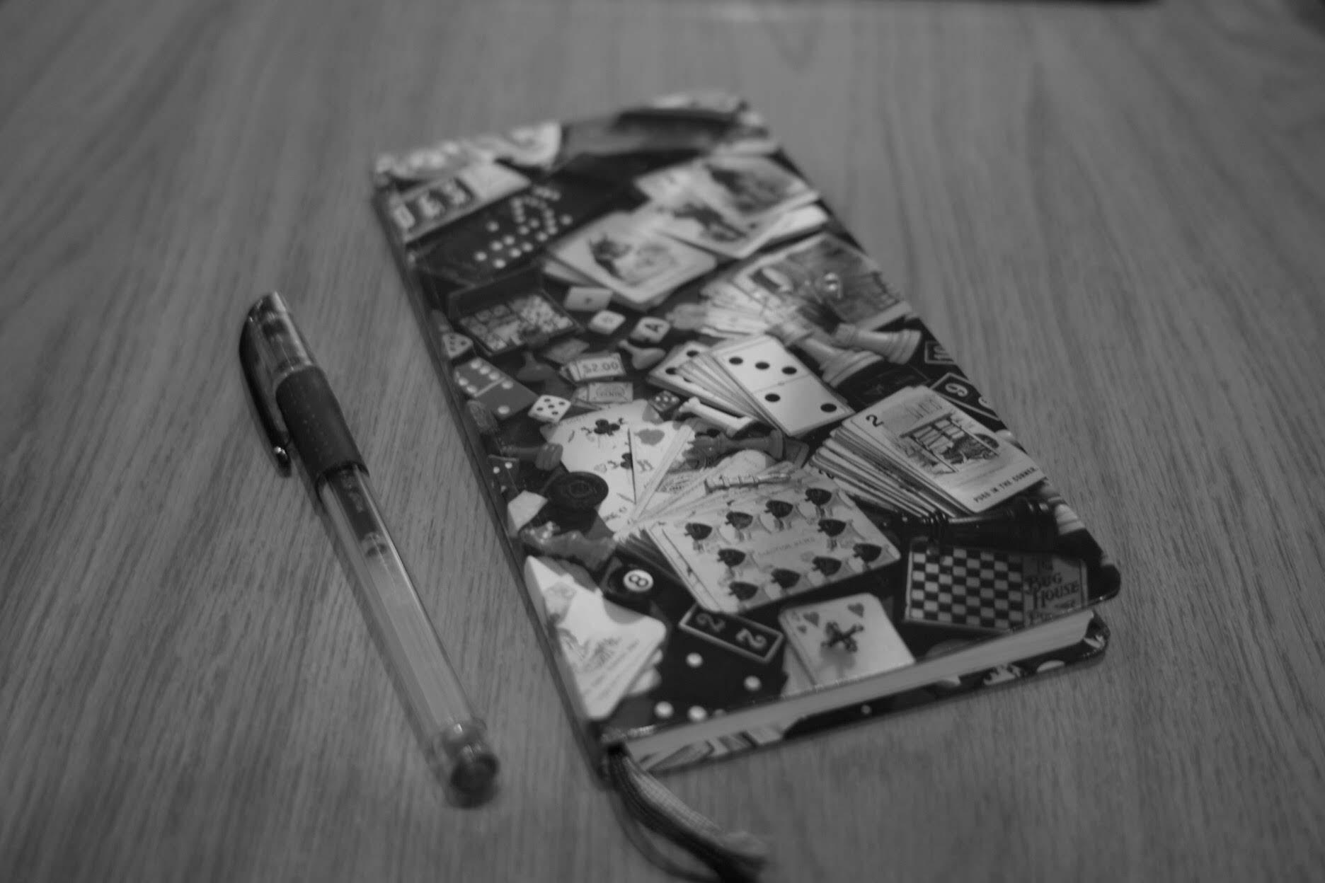 ノート、ほぼ日、手帳、ノスタルジック、白黒写真、DP2