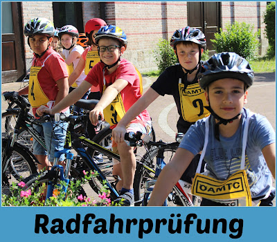 Praktische Radfahrprüfung