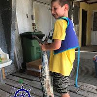Hunter with a king Mackerel 06-26-2018