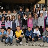 Fotografije odjeljenja od I - IV razreda ( školska, 2010/11.)