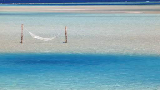 Hammock Hanging in Shallow Water, Maldives, Indian Ocean.jpg