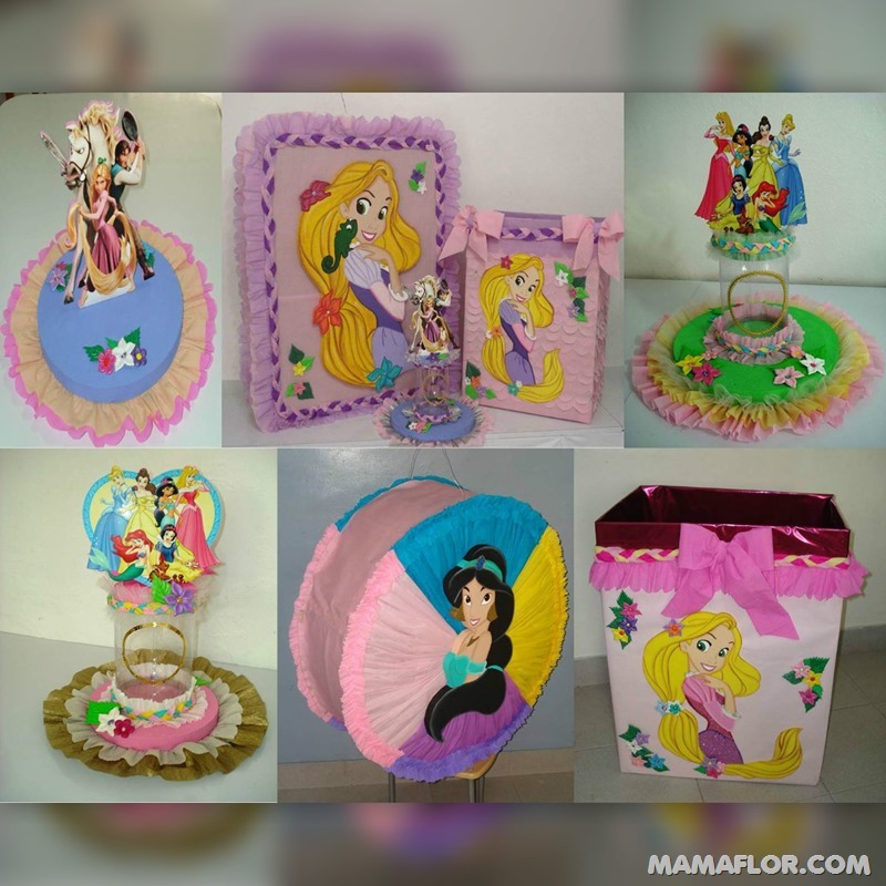 centro-de-mesa-princesas-disney-gratis - 12
