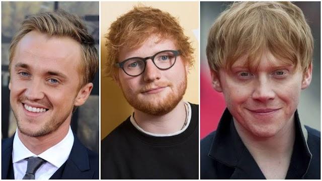 Rupert Grint fez participação em clipe de Ed Sheeran e Tom Felton encorajou seu colega em participar