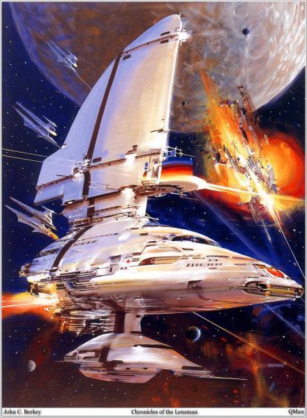 Space Battle, Fiction 1
