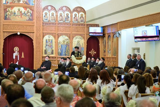His Holiness Pope Tawadros II visit to St. Mark LA - DSC_0258.JPG
