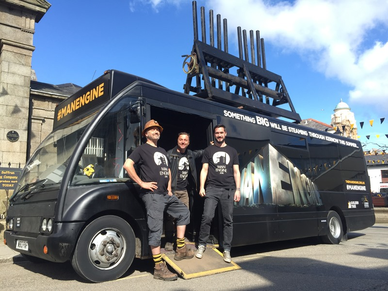 Man Engine Trailblazer bus
