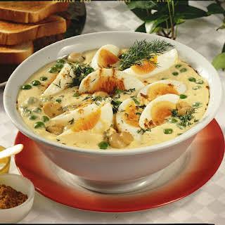 Egg Salad with Curry Mayonnaise.