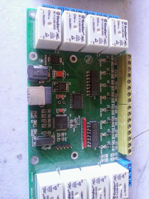 Carte Relai USB