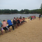 East vs West Tug-of-War - 50th Anniversary