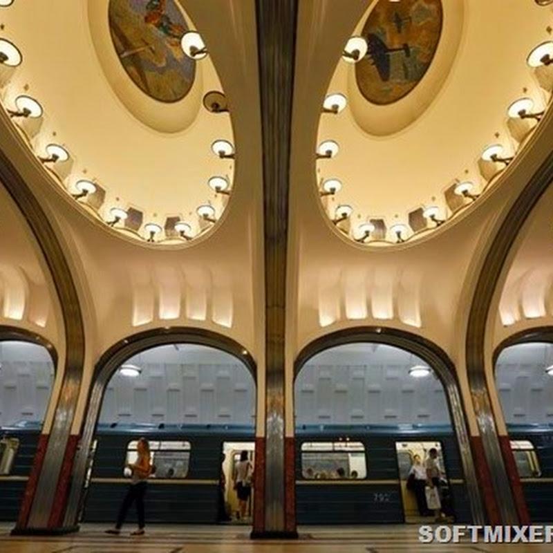 Московское метро глазами иностранки