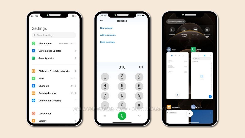 iPhone Pro MIUI Theme