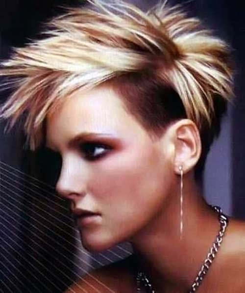 CRAZY SPIKY SHORT HAIRCUTS FOR LADIES &OLDER WOMEN 8