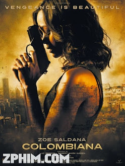 Nữ Sát Thủ Colombiana - Colombiana (2011) Poster