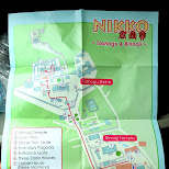 nikko map in Nikko, Totigi (Tochigi) , Japan