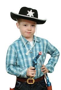 Cowboyhatt, barn