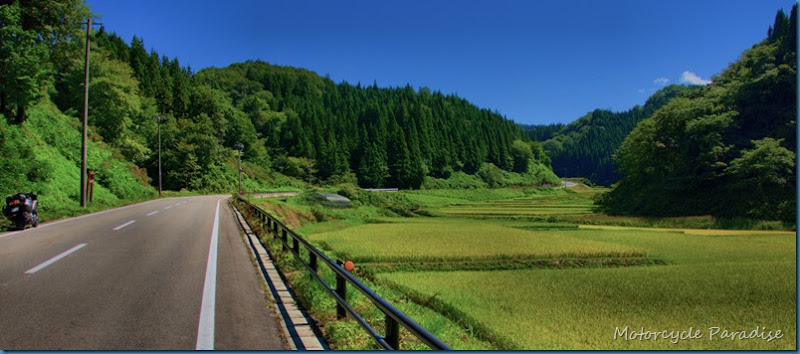 Japan, Tohoku Motorcycle Tour.