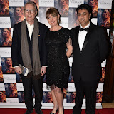 OIC - ENTSIMAGES.COM - Producer Caroline O'Reilly and Director Rajan Kumar Patel at the  : Feast of Varanasi  UK film premiere during the London Asian Film Festival 5th March 2016 Photo Mobis Photos/OIC 0203 174 1069
