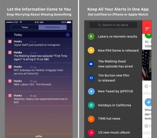 最新情報をiPhoneにプッシュ通知する