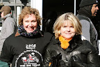 Julie Donovan, right, and Suzi Schlecte report for duty Dec. 21 at Fort Worth's Sundance Square, ready to participate in the Big Texas Toy Run. Toys were delivered to the Arlington Convention Center.