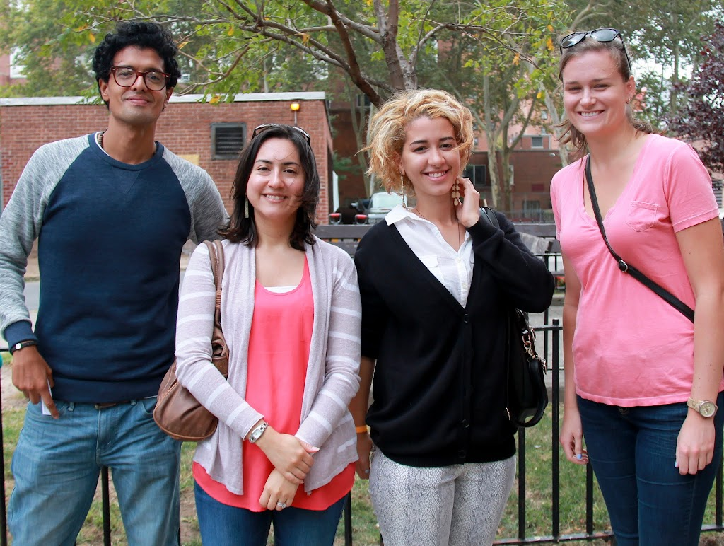 Jorge, Jessica, Louiza and Kimberly