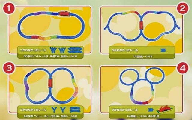 Disney Dream Railway Mickey Mouse Colorful Rail Set