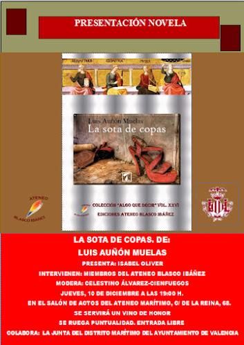 """""""La sota de copas"""" de Luis Auñón Muelas"""